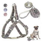 Fashion Step In Dog Harness&Lead&Treat Bag Pet Puppy Strap Vest Beagle Schnauzer