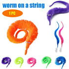 Magic Worm Twisty Toys Wiggly Fuzzy Carnival Party Favors, Worm on a String