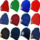 OFFICIAL CLUB ADULT CRESTED FOOTBALL TEAM KNITTED WOOLY CUFFED BRONX BEANIE HAT
