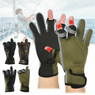 Mens Neoprene Fishing Gloves Lightweight Waterproof Non-Slip Shooting Hunting CA