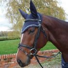 Mark Todd - Crochet Fly Veil - Black, Brown or Navy, Cob or Full Size