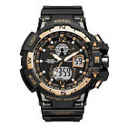 SMAEL Men's Date Military Tactical Quartz LED Waterproof Sport Chrono Watches US image