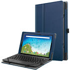 """Folio Case for RCA Viking Pro 10.1""""  Protective Stand Cover with Pencil Holder"""