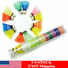 6 Pack Multicolor Badminton Shuttlecock Plastic Durable Sport Training Ball US $5.19 USD on eBay