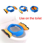 Travel Stool Kids Chair Baby Folding Potty  Toilet Seat Multifunctional image