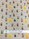Disney 100% Craft Cotton Fabric 140cm Wide - Licensed Characters 17 Design Print