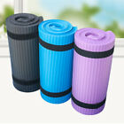 15mm Non-Slip Thick Yoga Mat Gym Exercise Fitness Pilates Workout Mat Portable
