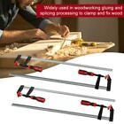 2/4 pcs Heavy Duty F Woodworking Clip Quick Grip Clamps Wood Carpenter Vice Tool