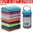 Instant Cooling Towel ICE Cold Golf Cycling Jogging Gym Sports Outdoor Towel AN