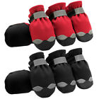Waterproof Protective Large Dog Shoes Non Slip Reflective Big Snow Boots Booties