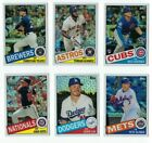 1985 Topps CHROME SILVER PACK Complete Your Set 2020 Topps Series 1 You U Pick