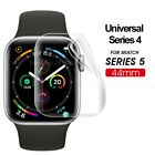 Screen Protectors TPU Hydrogel Film For Apple Watch Series 5 4 iWatch 40mm 44mm