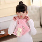 Cute Animal Autumn Winter Warm Scarf Faux Fur Neck Warmer Scarf For Kids Gift KV