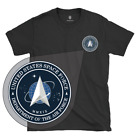 Official United States Space Force Patch Logo 100% Cotton T-Shirt & Decal image