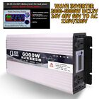 Pure Sine Wave Inverter Intelligent DC12V24V48V60V to AC110/220V Max 2000W-6000W