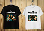 New The Outsiders 80's Drama Movie Men's T-Shirt Black and White b image