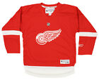Reebok NHL Boys Youth Detroit Red Wings Home Team Jersey, Red $19.99 USD on eBay
