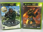 Halo 1 & 2 w/ Multiplayer Pack for the Original Xbox ~ Many Variations, Tested