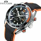 Men Automatic Self Wind Mechanical Multifunction Date Month Sport Watch image