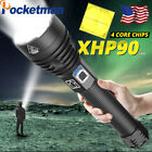 Kyпить 200000lm XHP70 XHP90 Tactical LED Flashlight Torch USB Rechargeable Lamp Zoom на еВаy.соm