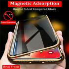For iPhone X XS 7 8 360° Double Tempered Glass Anti-Spy Privacy Phone Case Cover $12.21 USD on eBay