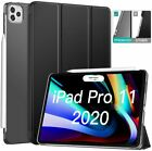 Smart Case Shell Stand Cover Frosted Back Protector for iPad Pro 11/12.9 2020