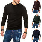 Jack & Jones Herren Strickpullover Basic Sweater Herrenpullover Pulli SALE