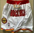 Men's NWT Houston Rockets Vintage Basketball Game Shorts Stitched Pants on eBay