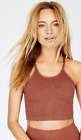 NEW Free People Movement Happiness Runs Tank Top Washed Copper XS/S-M/L 38.80