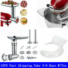 For KitchenAid Meat Grinder Slicer Shredder Juicer Attachment 6 Wire Whip USA