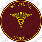 STICKER U S ARMY BRANCH MEDICAL CORPS UNIT