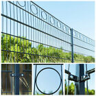 Home Deluxe Double Rod Matt Fence Industrial Fence