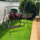 Outdoor Porch Swing Bench Patio  Hammock Chair Hanging Seat Furniture Comfort