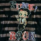 Betty Boop Punk Rock Girls Juniors Size T-shirt OOP Limited Sizes Left $14.95 USD on eBay