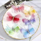 2Pcs New Butterfly Hair Clips Pins Women Sweet Ladies Barrette Hair Clips Gift
