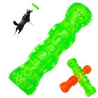 1x Dogs Chew Toys Indestructible Floating Tough Rubber Pet Dog Sound Squeaky Toy