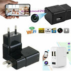 HD 1080P Hidden Camera USB Wall Charger Adapter Recorder WIFI Security Nanny Cam
