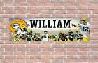 Green Bay Packers 2020 Roster Personalized Poster Customized Banner Frame Option $37.5 USD on eBay