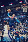 278707 Russell Westbrook OKLAHOMA CITY THUNDER OKC Basketball  PRINT POSTER CA on eBay