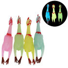 1Pc screaming chicken sound funny decompression toy rubber luminous toyH_ti