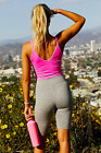 NEW Free People Movement Seamless Watch Out Tank Crop in Pink XS/S-M/L 48.80