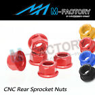 M12 Rear Hex Sprocket Nuts For Triumph Daytona 1000 1991-1995 $24.78 USD on eBay