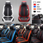 Deluxe 5-Seats Car Seat Cover Full Front+Rear Cushion Size L PU Leather W/Pillow $135.99 USD on eBay
