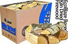 EcoBlaze Boxed Kiln Dried Firewood - Premium 25cm Hardwood Logs Dried Under 20%