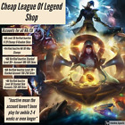 League of Legends Account- NA/EU Server- Cheap n Fast Delivery!