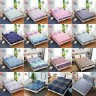 Simple Bed Fitted Sheet Elastic Sheets Bedspread King Size Bedding Cover Floral image