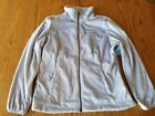 New Womens Free Country Butter Pile Jacket Sky Blue Full Zip S L XL 2XL