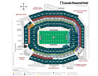 1 Phila. Eagles ticket Lower Level section 103 ROW1 vs Baltimore 10/18