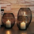 Cage Lantern Black Metal Iron Candle Holder 3 Sizes Available Modern Home