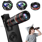 12X Zoom Telephoto 180° Fisheye 0.36X Wide Macro Phone Lens for i Phone 11 XS XR